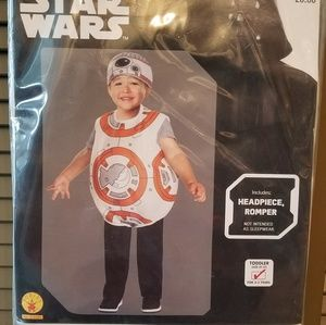 BB-8 Star Wars Child Costume 2-3yrs
